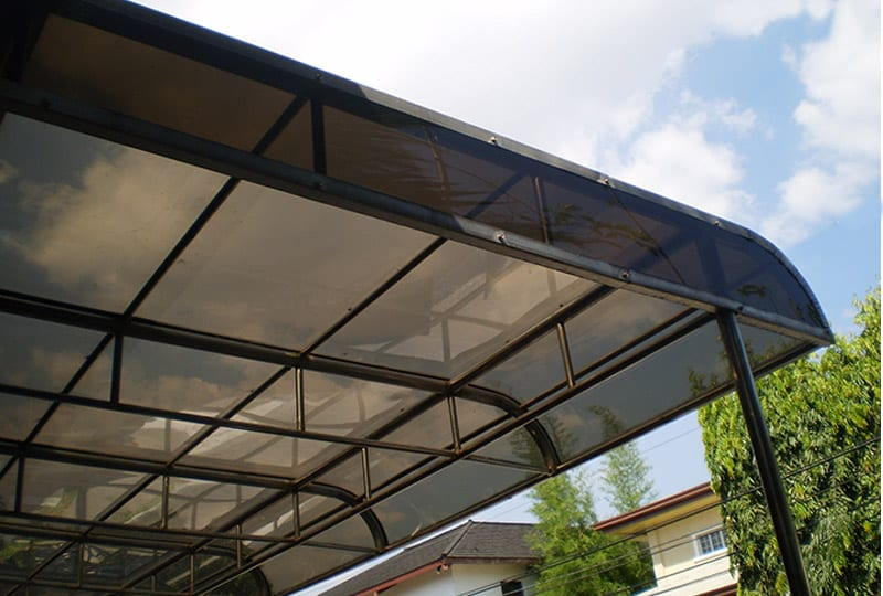 Polycarbonate Solid Sheet Modern Roofing Center