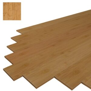 MUZU HORIZONTAL BAMBOO FLOORS - CARBONIZED