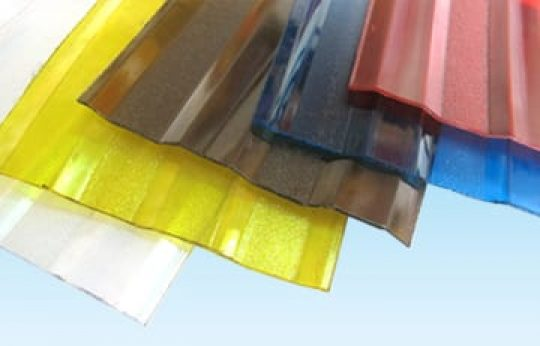 POLYCARBONATE EMBOSSED & CORRUGATED