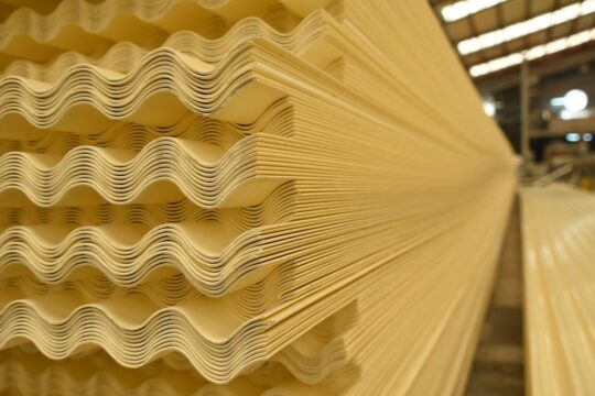 CORRUGATED THERMOPLASTIC ROOFING